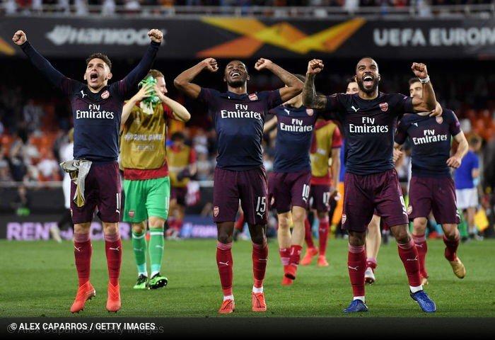 Arsenal e as competições europeias