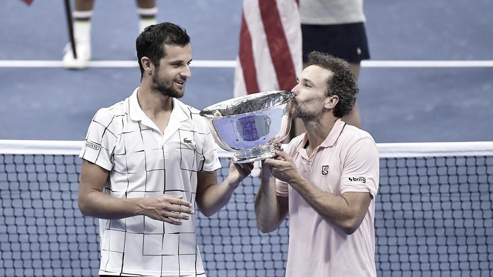 É do Brasil! Pavic/Soares vencem Koolhof/Mektic e são campeões do US Open