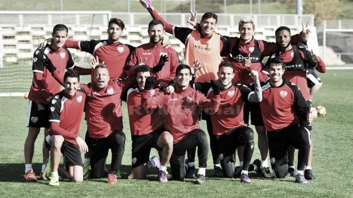El Rayo retoma los entrenamientos tras aplazarse el partido ante el Levante