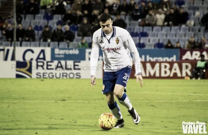 Diego Rico, el mejor frente el Almería según la afición