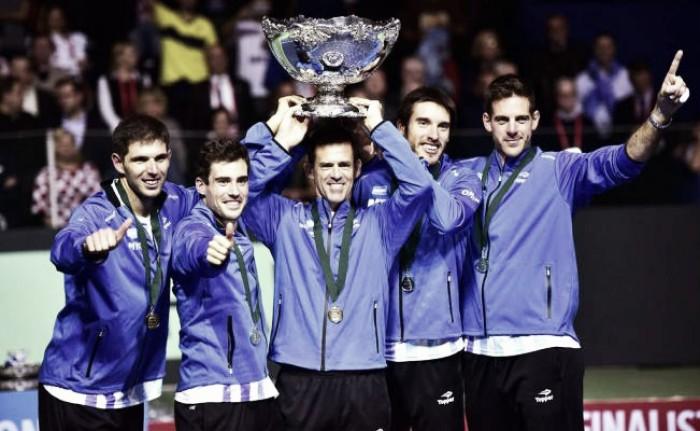 Argentina y su equipo para la Copa Davis 2017