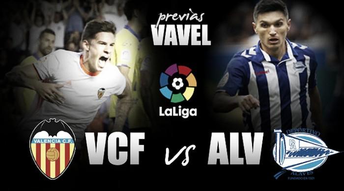 Valencia CF - Deportivo Alavés: a por la primera victoria