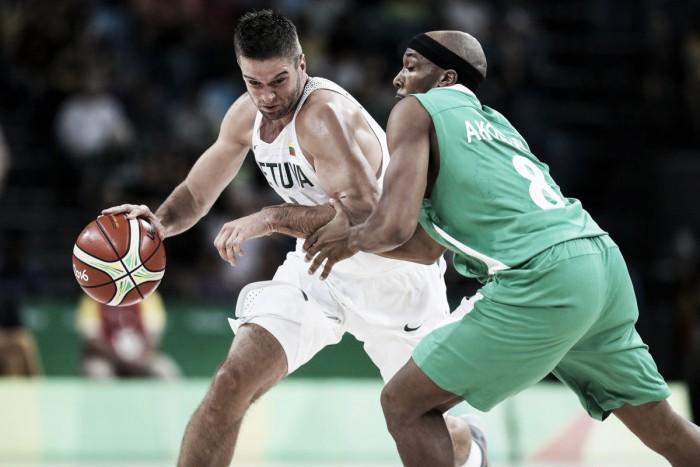 Río 2016: Lituania venció a Nigeria en una pobrísima actuación