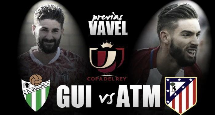 CD Guijuelo - Atlético de Madrid: Jamón con la Copa