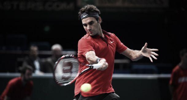 Masters 1000 Paris: Federer sort Pouille, Monfils et Tsonga éliminés