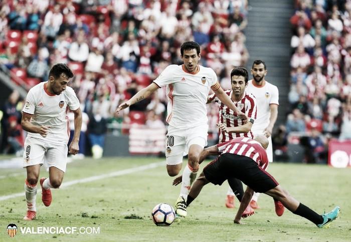 Athletic Club - Valencia C.F. Puntuaciones del Valencia, jornada 4 liga Santander