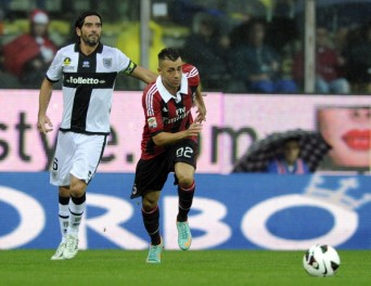 El Shaarawy vuelve a marcar y salva un punto al AC Milan