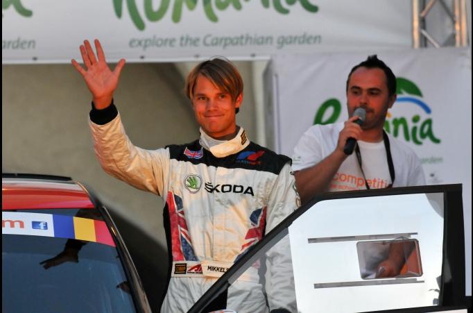 Mikkelsen lidera el Sibiu Rally con puño de hierro