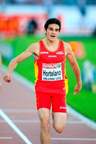 Bruno Hortelano bate el récord de España de 300ml en pista cubierta