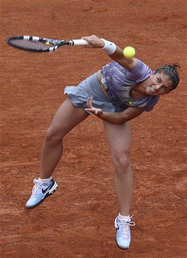 Roland-Garros : Sara Errani première qualifiée