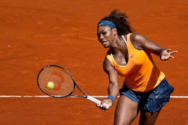 Serena Williams ne traîne pas