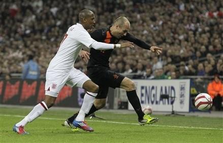 Robben prend Wembley