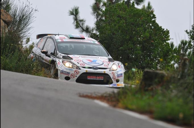 Basso al frente del Rally de San Remo
