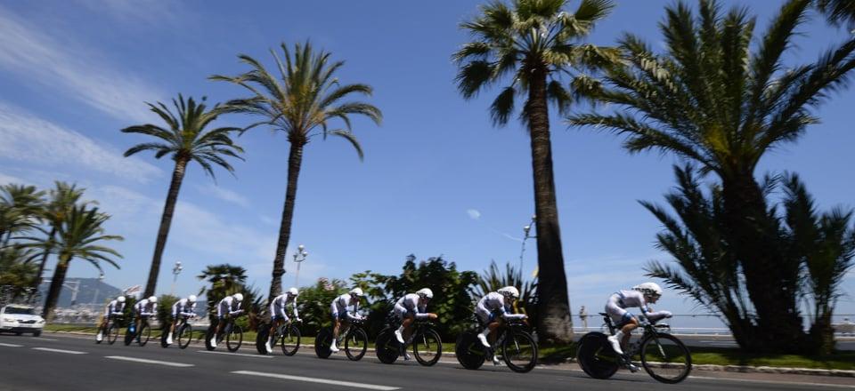 Tour de France 2013 : La 4ème étape en direct live - CLM par équipe