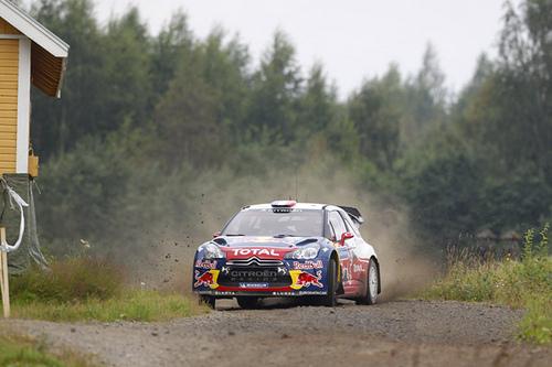 Loeb vence por tercera vez en Finlandia