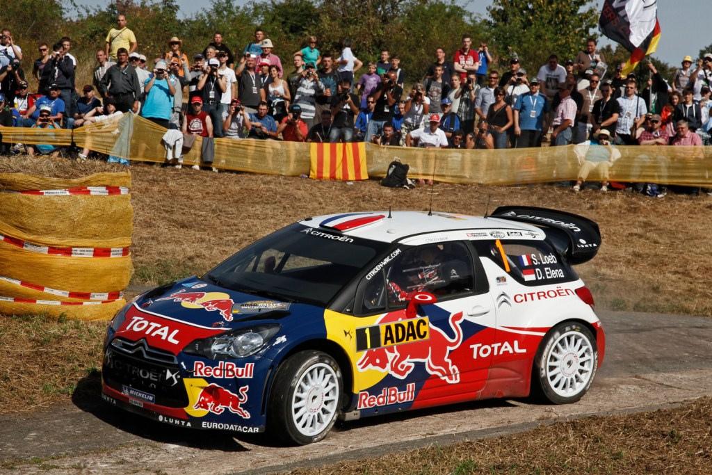 Loeb encabeza el ADAC Rally Deutschland