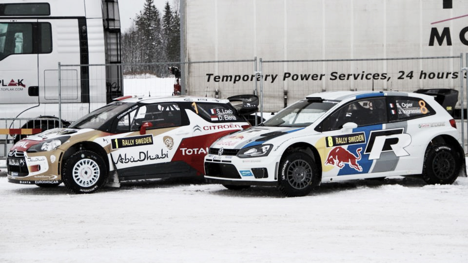 ¿Cómo son los coches de rally?
