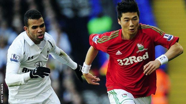 El Tottenham vence al Swansea y se sitúa en puestos Champions