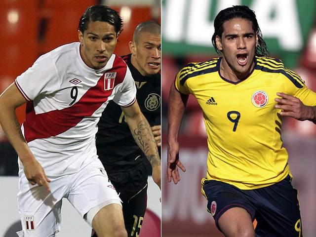 Colombia y Perú tendrán un juego decisivo de cara a Brasil 2014