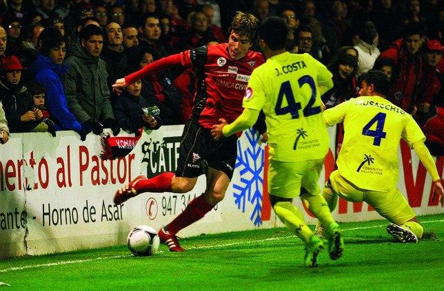 Un débil Mirandés pierde ante un Villarreal de Primera