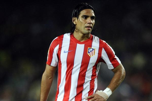 Los goles de Falcao solo han aportado un punto al Atlético de Madrid