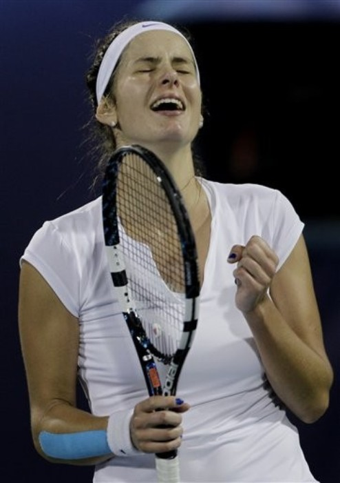 Goerges derrota a Wozniacki y jugará contra Radwanska la final de Dubai