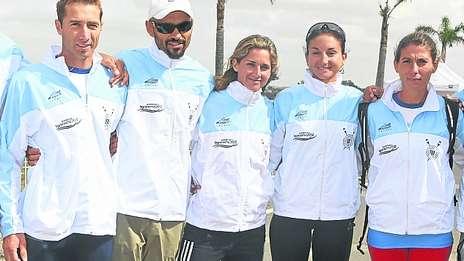 Preolímpico de Remo Tigre 2012 - Todos los botes argentinos lograron su pasaje a Londres