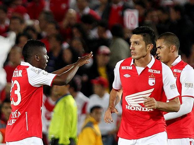 Santa Fe sufrió, Ganó y es líder de su grupo en Copa Libertadores