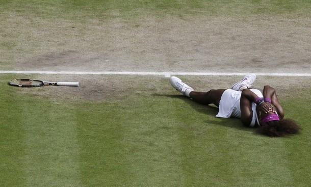 Serena Williams agranda su leyenda con su quinto título en Wimbledon