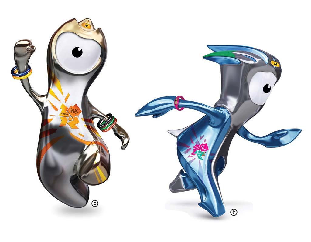 Las mascotas de los Juegos Olímpicos