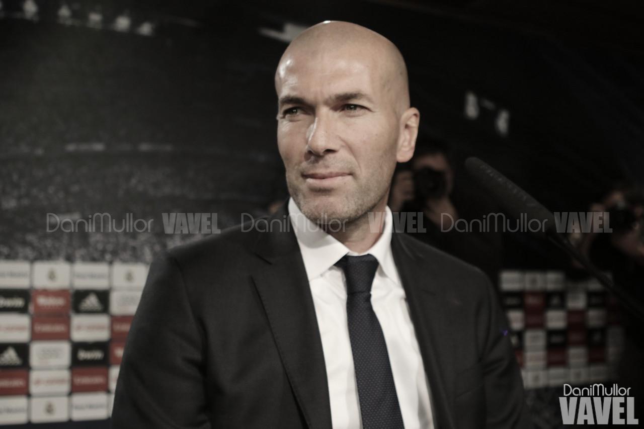 """Zidane:""""Hay que disfrutar los tres puntos de hoy"""""""