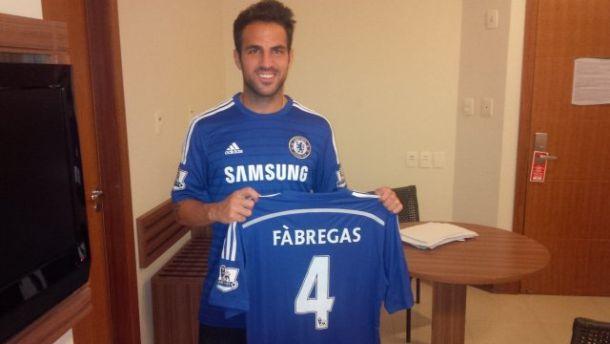 Fabregas débarque à Chelsea !