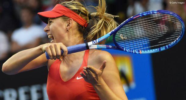 Maria Sharapova vence a Diyas en un partido completo