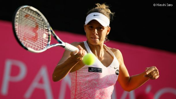 WTA Tokyo, la finaleè Linette - Wickmayer