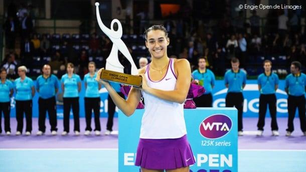 WTA Limoges, titolo alla Garcia