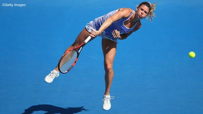 WTA Hobart, Giorgi nei quarti