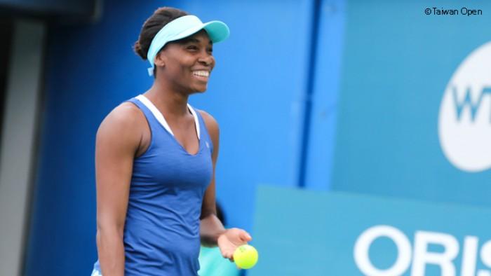 WTA - Taiwan Open, avanza Venus Williams