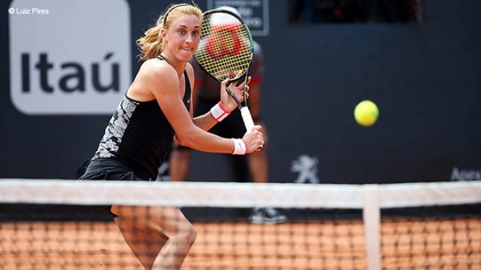 WTA Rio, esce la Pereira. Schiavone in campo per il secondo turno