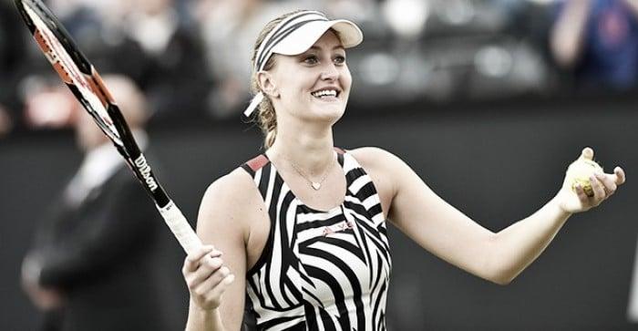 WTA Eastbourne: Kristina Mladenovic tops Yanina Wickmayer in straight sets
