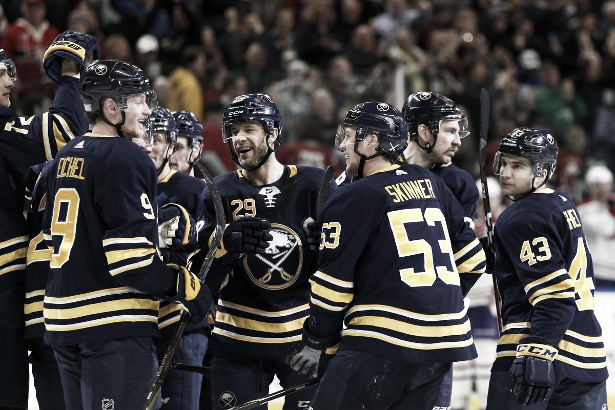 Finally, it's Buffalo's turn