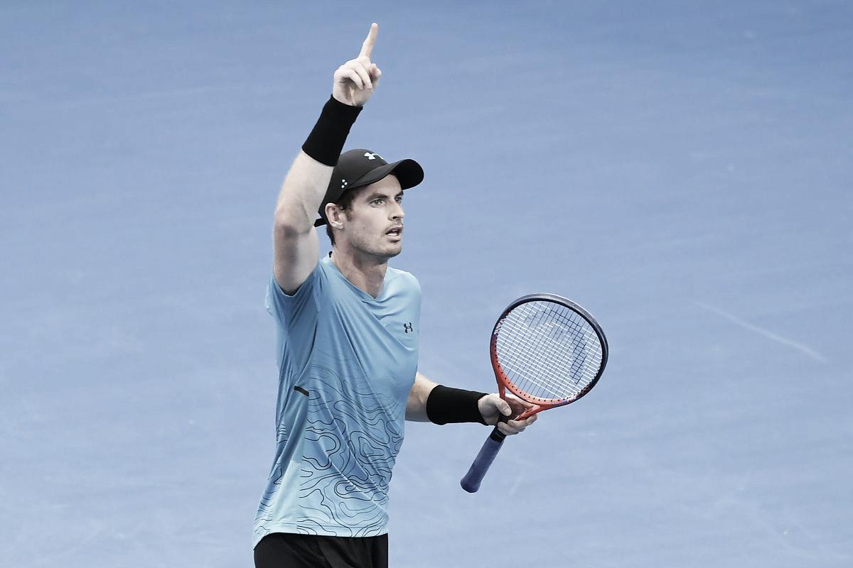 Voltando às quadras depois de três meses, Murray passa por Duckworth em Brisbane