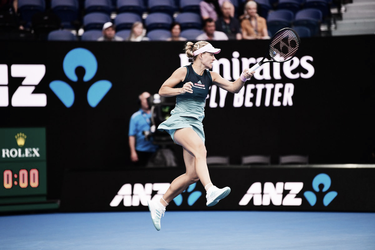 Bia Haddad não resiste e é eliminada por Kerber no Australian Open