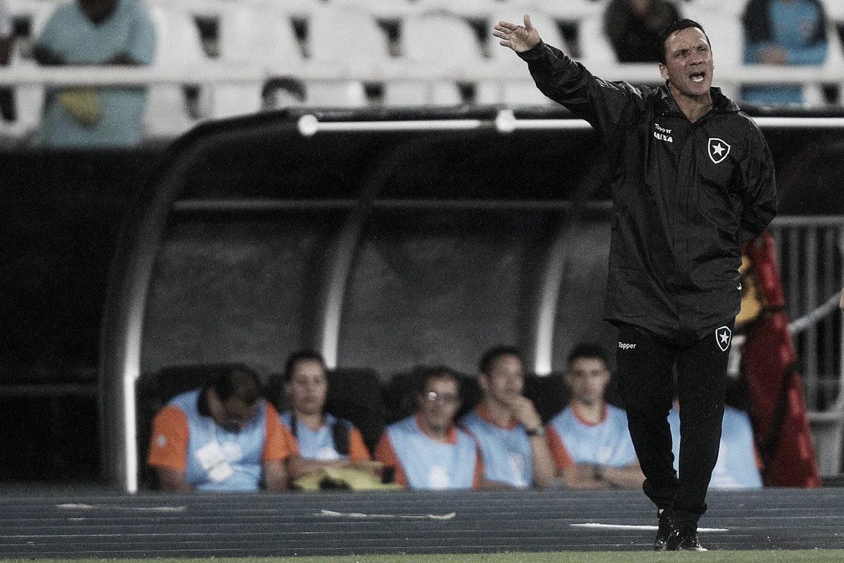 Zé elogia superação do Botafogo e comemora resultado positivo na estreia da Sul-Americana