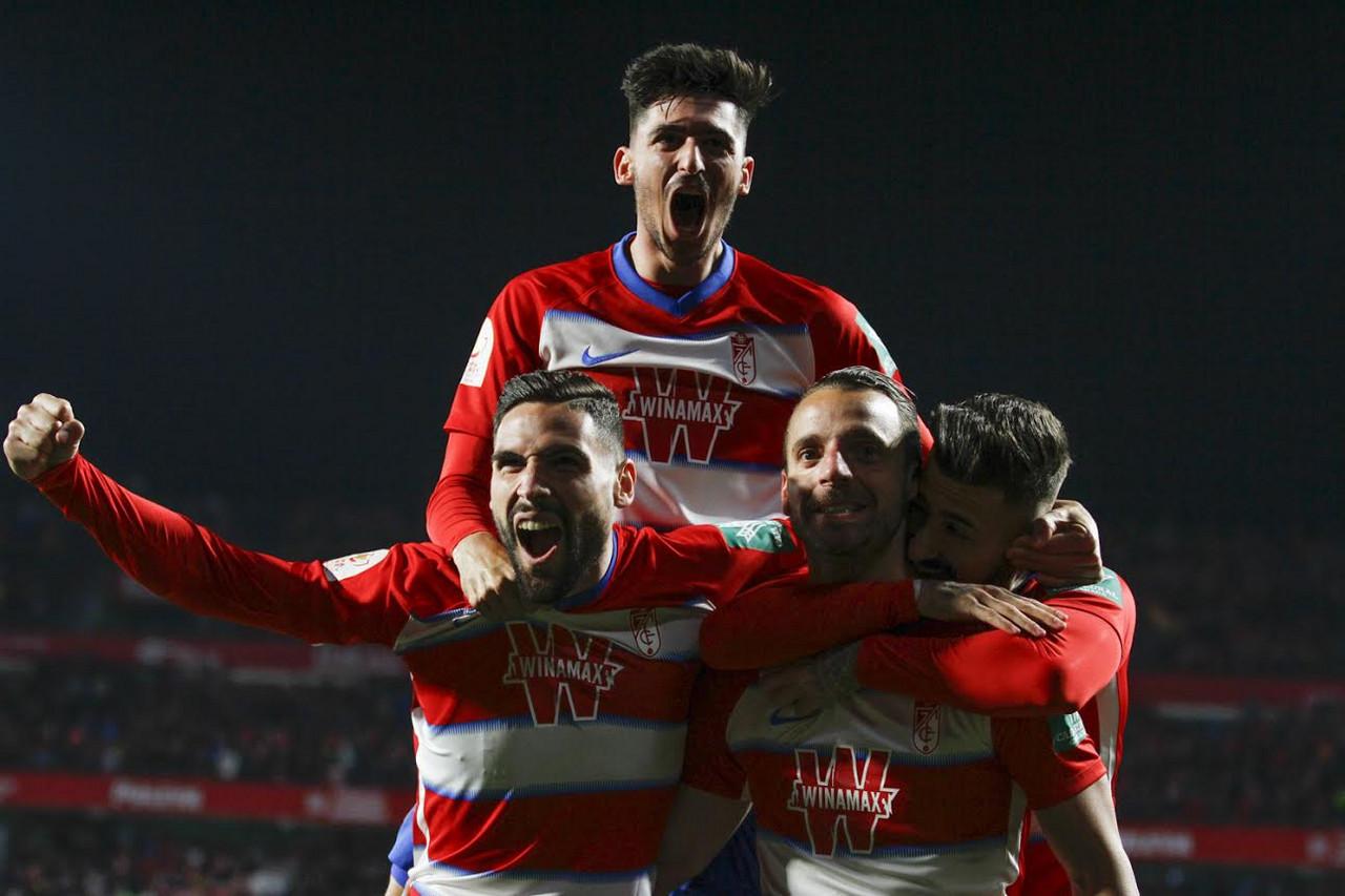 El Granada CF hace historia en la Copa 51 años después