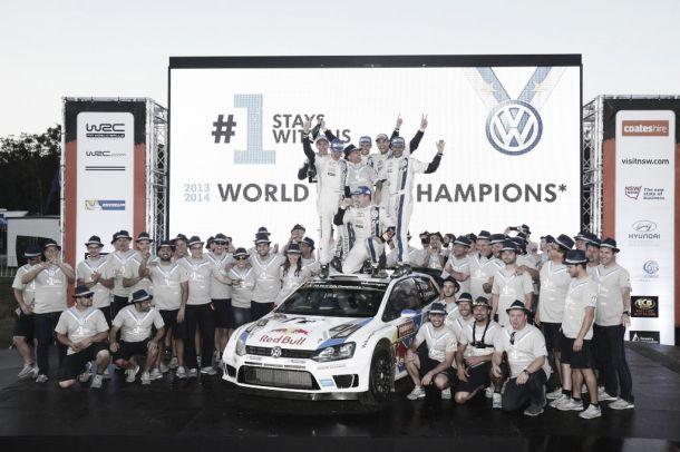 Rallye d'Australie : Ogier l'emporte, le titre constructeurs pour Volkswagen