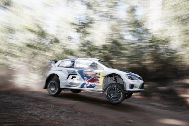 Rallye d'Australie : Ogier leader après la première journée