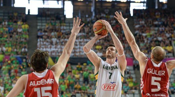 كأس العالم لكرة السلة : ليتوانيا تطيح بتركيا