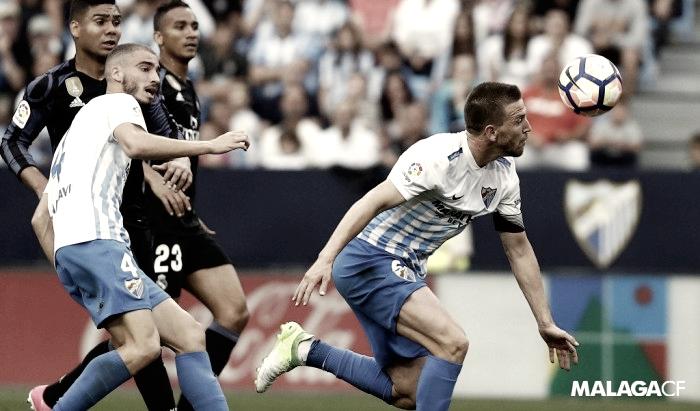 Málaga-Real Madrid: Puntuaciones del Málaga, jornada 38 de LaLiga Santander