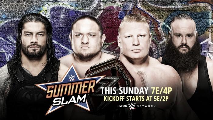 Cartelera WWE SummerSlam 2017