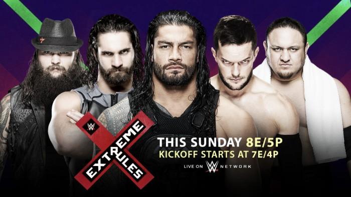 Cartelera WWE Extreme Rules 2017